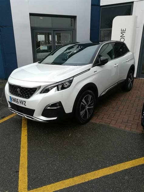 peugeot 3008 white 2017 pearlescent white paint peugeot forums