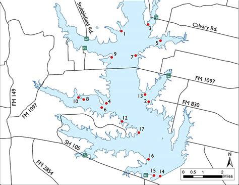 lake conroe texas map fishing lake conroe