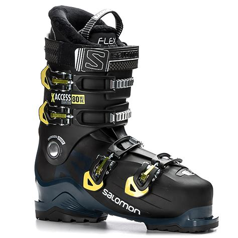 ski boots for wide salomon x access 80 wide ski boots 2018