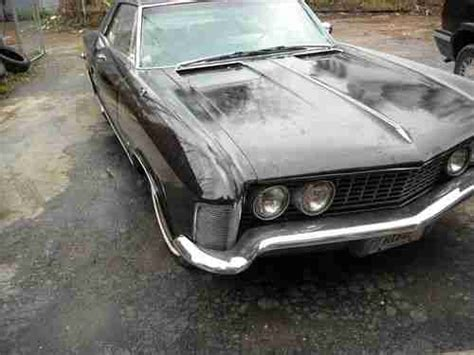 Buick Riviera Transmission Buy Used 1963 Buick Riviera Black 2 Door Coupe 401