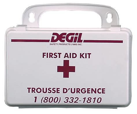 section aid quebec section 4 regulation first aid kits degil online