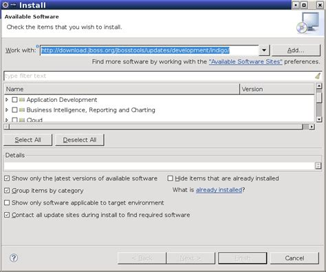 tutorial java jboss j2ee setup tutorial install jboss tools