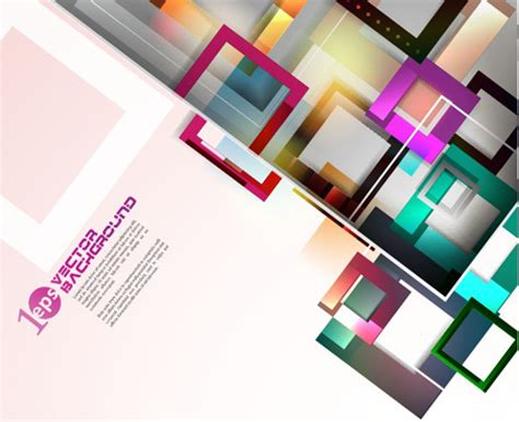 colorful objects wallpaper elements of colorful abstract objects vector background