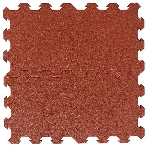 pavimento antiurto pavimento rosso in gomma antitrauma antiurto