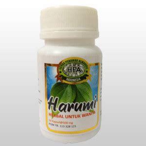 harumi herba kesehatan khusus untuk wanita dari halal mart hpai pengobatan herbal dan terapi