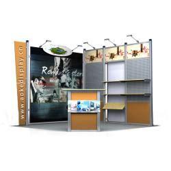 aluminium booth manufacturers aluminum extrusion exhibition booth aluminum extrusion