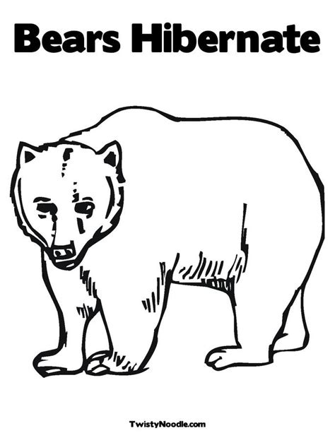 Coloring Pages Of Animals That Hibernate | hibernating animals coloring pages timeless miracle com