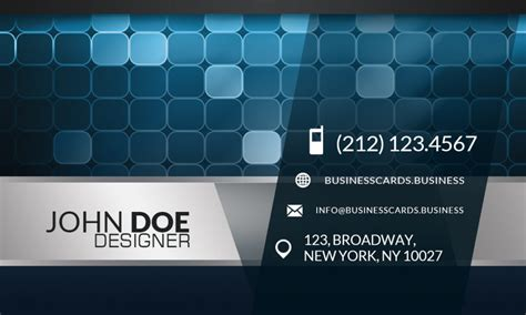 Free Digital Business Card free digital business card template business cards templates