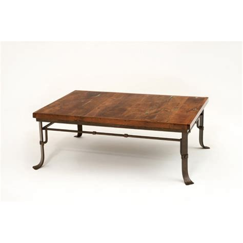 steel traditions melbourne rectangle coffee table green
