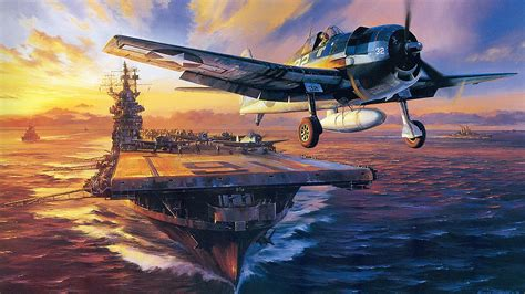 painting airplane vintage aviation wallpaper desktop background rrxt