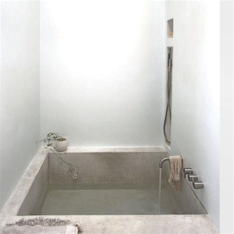 poured concrete bathtub 173 best tadelakt plaster for interior exterior images on