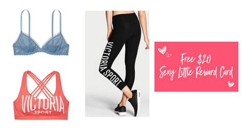 Victoria Secret 20 Gift Card - victoria s secret two sports bras or bralettes yoga pants and 20 gift card only 50