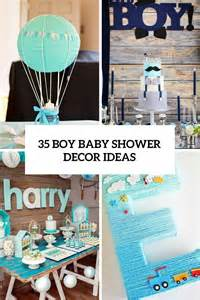 Fall Decorating Tips - 35 boy baby shower decorations that are worth trying digsdigs