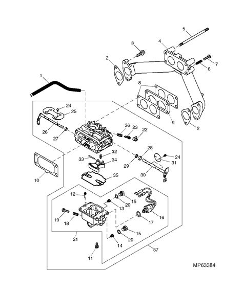 deere 737 parts diagram i a deere 737 while mowing the mower will choke