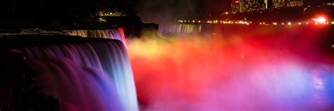 niagara falls ontario lights niagara falls light niagara falls state park