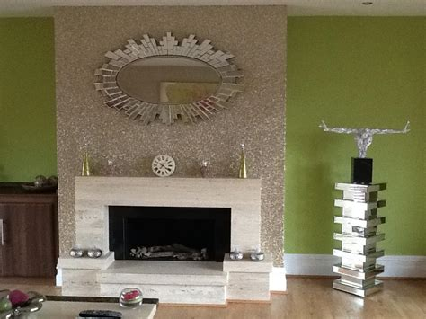 glitter wallpaper room sand glitter wallpaper on a chimney breast what is your