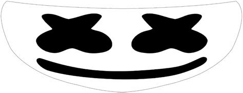 marshmello eyes marshmello helmet visor sticker edm motorcycle shield