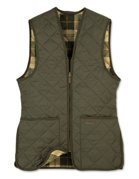 Quilted Waistcoats by Winter Waistcoat For Barbour 174 Zip In Quilted