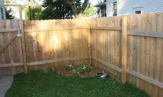 how to build a fence pictures