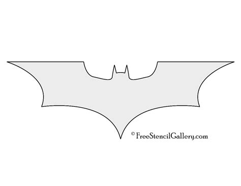 batman template batman symbol template free clipartsgram