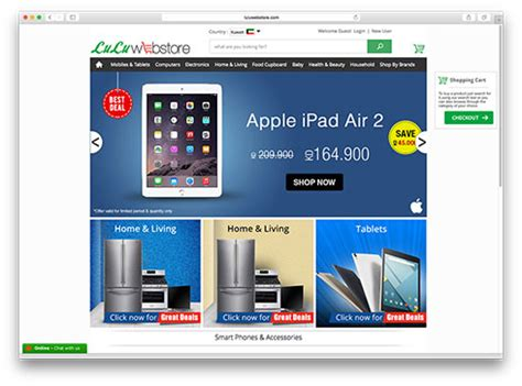 lulu online shopping lulu hypermarket now online 2 48am everything kuwait