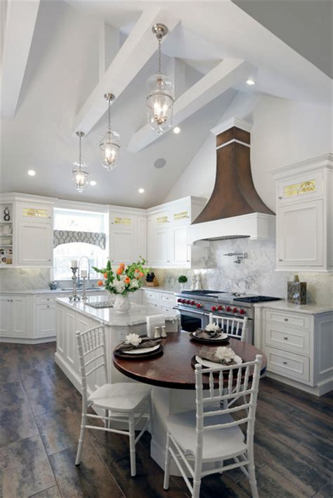 unique diy farmhouse overhead kitchen lights vaulted ceiling kitchen rockville centre 1404 farmhouse