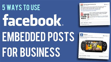 5 Useful Posts On Antb by 5 Ways To Use Embedded Posts For Effective