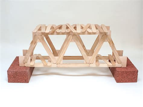 with popsicle sticks how to build a popsicle stick bridge science project ideas