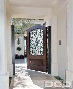 Mediterranean Style Outdoor Furniture - mediterranean garden gates in wood amp wrought iron design