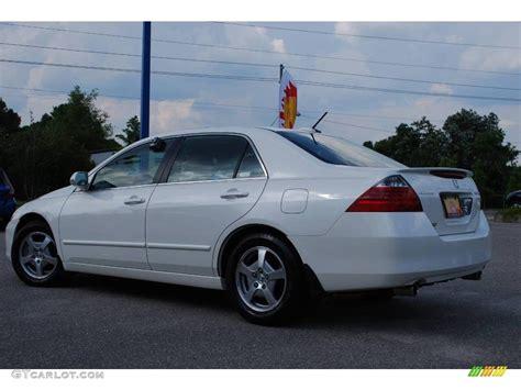 2006 Honda Accord Hybrid by 2006 Premium White Pearl Honda Accord Hybrid Sedan