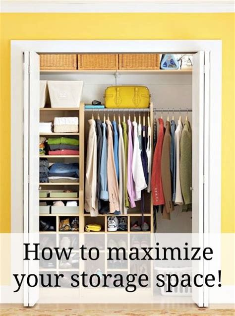 maximizing closet space how to maximize your storage space great tips for small