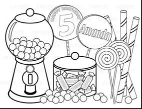 printable candyland coloring pages coloringsuite