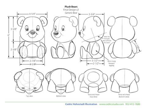 design doll perspective toy design plush teddy bears cedric hohnstadt illustration