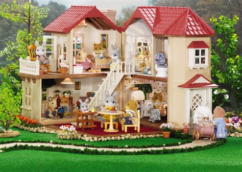 critter doll house calico critters townhome on sale at the learning tree