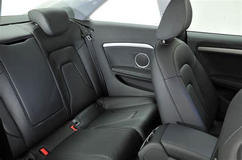 Audi A5 Backseat audi a5 2007 2016 interior autocar