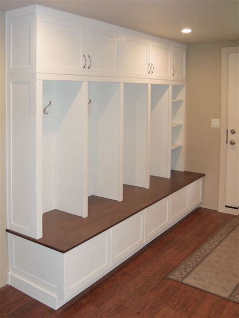 Mudroom Cabinets With Doors by 25 Best Ideas About Mudroom Cabinets On