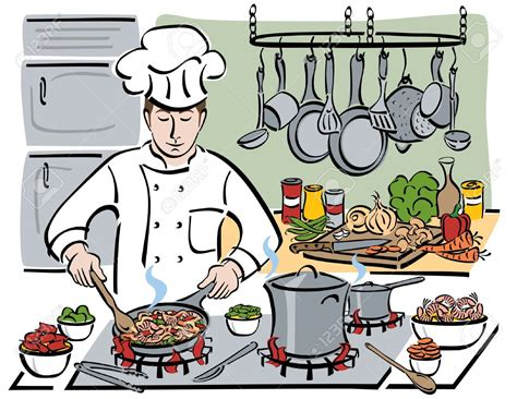 cuisine clipart restaurant kitchen clipart clipground