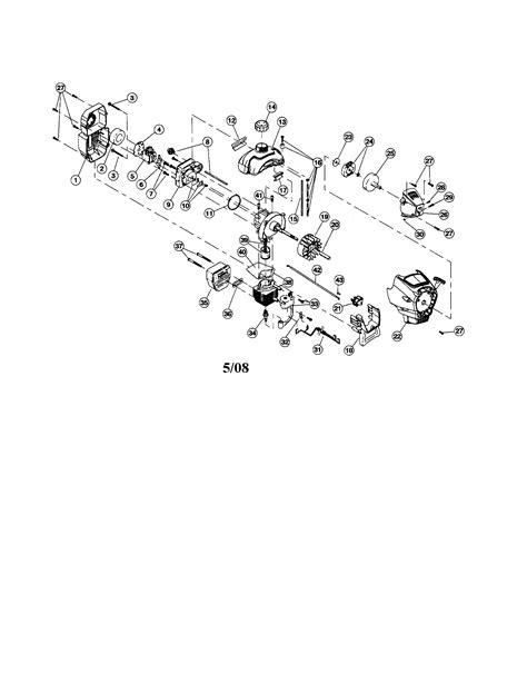 Craftsman model 316791860 (2008) line trimmers/weedwackers