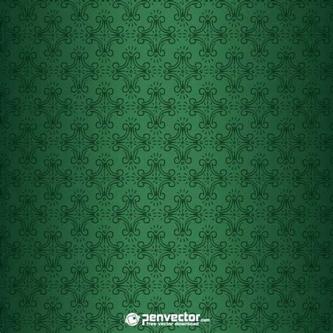 vector pattern background green green pattern background free vector