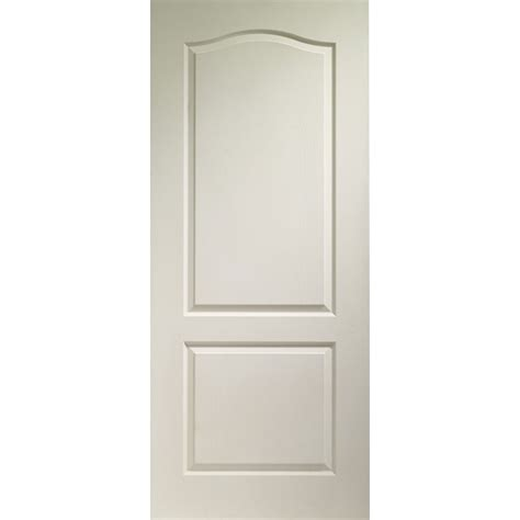 xl door white moulded classique 2 panel door