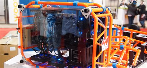 diy pc in win s open air d frame diy gaming pc case build it