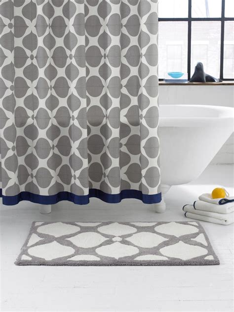 Stella Bathroom Cool Blue 70 Gram the best 100 navy and gray shower curtain image