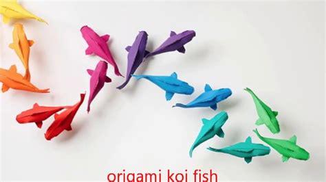 Origami Fish Tutorial - origami origami koi fish tutorial sipho mabona origami