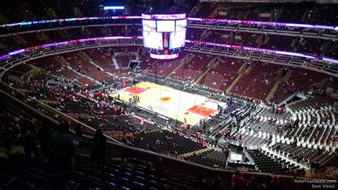 Section 331 United Center by United Center Section 331 Chicago Bulls Rateyourseats