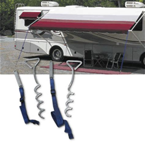 carefree of colorado awning springs carefree of colorado 901004 set of 2 awning tie downs with