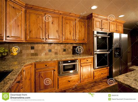 custom luxury kitchen stock image spacious modern luxury kitchen cabinetry royalty free