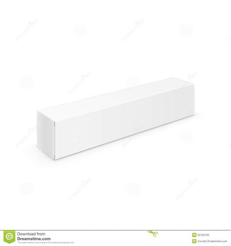 blank packaging templates white blank packaging package pack toothpaste box stock vector image 55702163