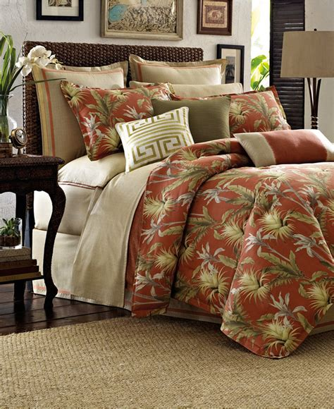 tommy bahama home catalina california king comforter set