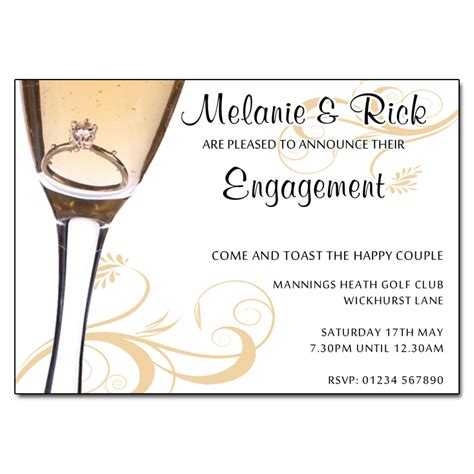 engagement invite templates engagement invitation engagement invitations