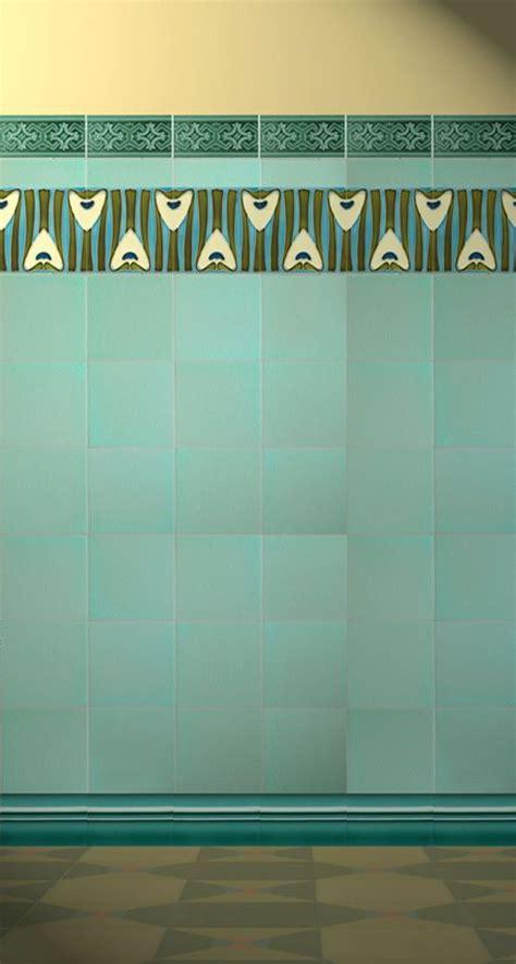 art nouveau bathroom tiles art nouveau tiles bathroom arts and craft art nouveau